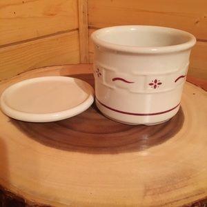 Longaberger Pottery Candleholder